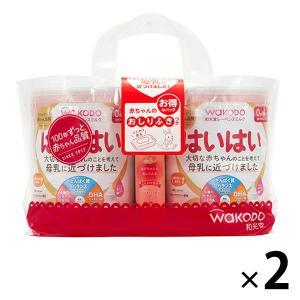 0ヵ月からWAKODO(和光堂) レーベンスミルク はいはい(大缶)810g×2缶パック (おまけ付き) 1セット(2パック:4缶) アサヒグループ食品|y-lohaco