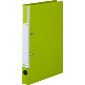 リングファイル D型2穴 A4タテ 背幅31mm グリーン アスクル|y-lohaco