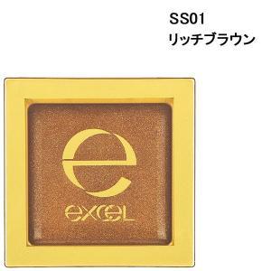 サナ excel(エクセル) シマリングシャドウ SS01(リッチブラウン) 常盤薬品工業