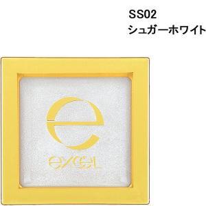 サナ excel(エクセル) シマリングシャドウ SS02(シュガーホワイト) 常盤薬品工業