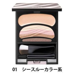 花王 AUBE couture(オーブクチュール) ブラシひと塗りシャドウ 01シースルーカラー系 4.5g|y-lohaco