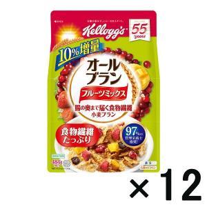 アウトレットケロッグ オールブランフルーツミックス徳用袋 1セット(484g×12袋)|y-lohaco