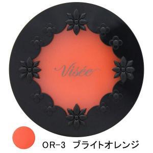 ヴィセ(Visee)リシェ リップ&チーク クリーム OR-3ブライトオレンジ コーセー