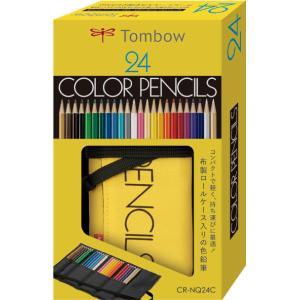 トンボ鉛筆 ロールケース入り色鉛筆 24色セット CR-NQ24C LOHACO PayPayモール店