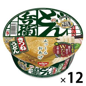 日清食品 日清のどん兵衛 きつねうどん(西日本版) (12個入り)|LOHACO PayPayモール店