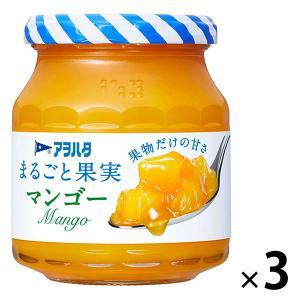 アヲハタ まるごと果実 マンゴー 250g 1セット(3個) LOHACO PayPayモール店