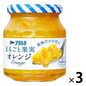 アヲハタ まるごと果実 オレンジ 250g 1セット(3個) LOHACO PayPayモール店