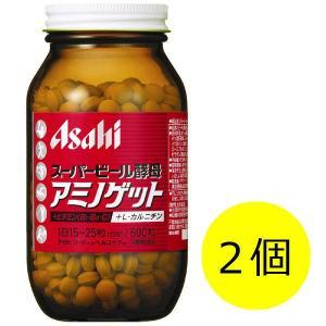 スーパービール酵母アミノゲット 1セット(600粒×2個) アサヒグループ食品 サプリメント|y-lohaco