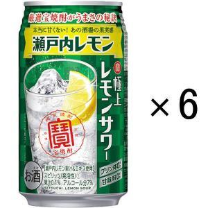 宝酒造 寶 極上レモンサワー 瀬戸内レモン 350ml×6缶