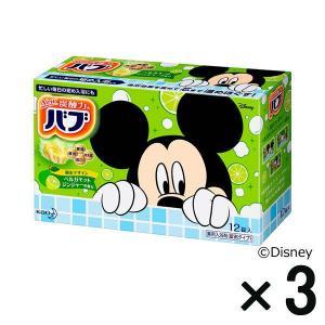 アウトレットバブ ベルガモットジンジャーの香り ディズニー 1セット(3箱:12個入×3) 花王