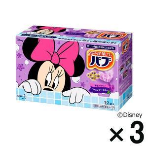 アウトレットバブ ラベンダーの香り ディズニー 1セット(3箱:12個入×3) 花王|y-lohaco