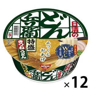 日清食品 日清のどん兵衛 特盛きつねうどん(東日本版) 12個