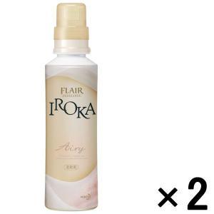アウトレット花王 フレアフレグランス IROKA Airy 本体 570mL 1セット(2本:1本×2)|y-lohaco