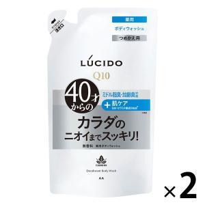 ルシード 薬用デオドラントボディウォッシュ 詰め替え 380ml 1セット(2個)マンダム|y-lohaco