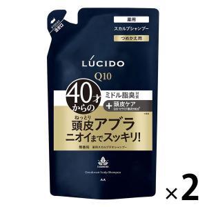 ルシード 薬用スカルプデオシャンプー 詰め替え 380ml 1セット(2個)マンダム