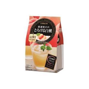 日東紅茶 厳選果汁のとろける白桃 1袋(10本入)