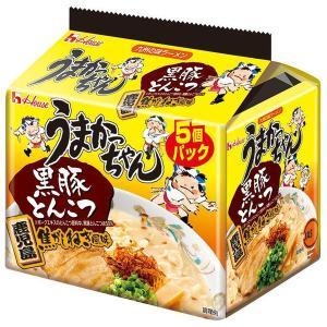 ハウス食品 うまかっちゃん 黒豚とんこつ 1パック(5食入)×3個|y-lohaco