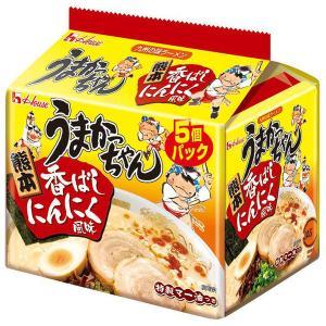 ハウス食品 うまかっちゃん 熊本火の国流とんこつ 1パック(5食入)×5個|y-lohaco