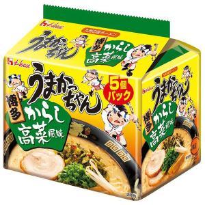 ハウス食品 うまかっちゃん 博多からし高菜風味 1パック(5食入)×8個|y-lohaco