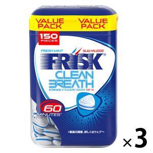 クラシエフーズ フリスク クリーンブレスボトル フレッシュミント 1セット(3個)