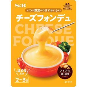 エスビー食品 S&B チーズフォンデュ 3種のチーズソース 1個