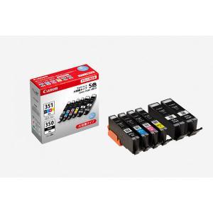 キヤノン インク BCI-351XL+350XL*2/5MP 5色パック+ブラック1個 1パック(6...