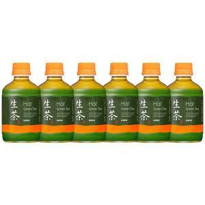 保温可能飲料ホットペットキリンビバレッジ ホット生茶 280ml 1セット(6本) y-lohaco