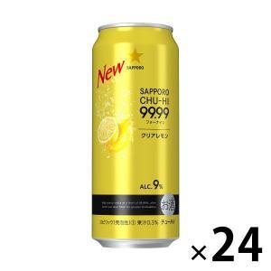 サッポロビール サッポロチューハイ 99.99(フォーナイン) クリアレモン 500ml × 24缶|y-lohaco