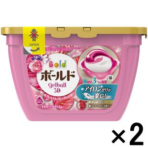 アウトレットP&G ボールドジェルボール3D 癒しのプレミアムブロッサムの香り本体 1セット(36粒:18粒入×2)