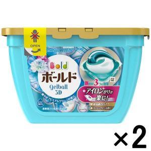 アウトレットP&G ボールドジェルボール3D 爽やかプレミアムクリーンの香り本体 1セット(36粒:18粒入×2)