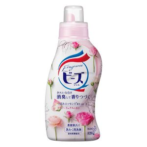 フレグランスニュービーズジェル フラワーリュクスの香り 本体 820g 1個 衣料用洗剤 花王
