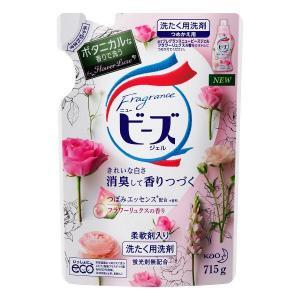 フレグランスニュービーズジェル フラワーリュクスの香り 詰め替え 715g 1個 衣料用洗剤 花王