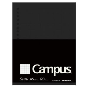 コクヨ キャンパス ルーズリーフBiz A5 方眼罫 120枚 ノ-G806S-5|LOHACO PayPayモール店