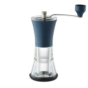 ワゴンセール Kalita(カリタ) 手挽きコーヒーミル スモーキーブルー 1個 #42152