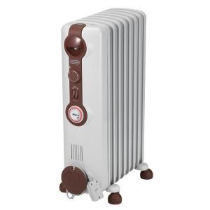 デロンギ オイルヒーター JR0812-BR 1200W 10畳 温度自動制御可能 タイマー