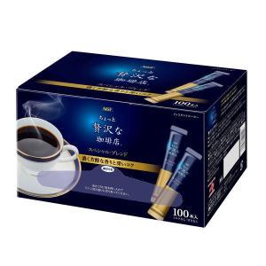 スティックコーヒー味の素AGF ちょっと贅沢な珈琲店 スペシャル・ブレンド スティック  1箱(100本入)|y-lohaco