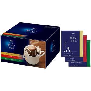 ドリップコーヒー味の素AGF  ちょっと贅沢な珈琲店ドリップパックアソート  1箱(40袋入)|y-lohaco