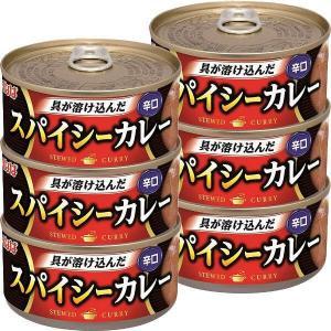 いなば食品 スパイシーカレー 辛口 3缶セット×2個 y-lohaco