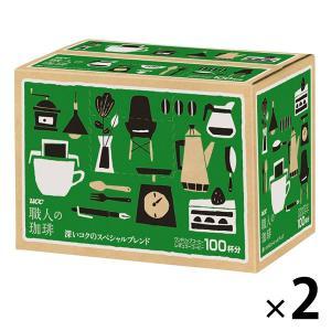 ドリップコーヒー UCC上島珈琲 職人の珈琲ドリップコーヒー 深いコクのスペシャルブレンド 1セット(200袋:100袋×2箱)|LOHACO PayPayモール店