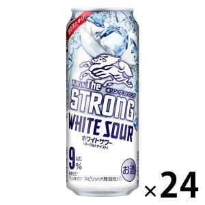キリンビール キリン・ザ・ストロング ホワイトサワー 500ml × 24缶|y-lohaco