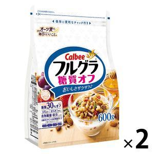 カルビー フルグラ糖質オフ 600g 1セット(2袋)|y-lohaco