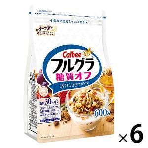 カルビー フルグラ糖質オフ 600g 1セット(6袋)|y-lohaco