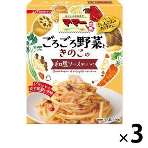 アウトレット日清フーズ マ・マー ごろごろ野菜 れんこんとたけのこのソース 1セット(140g×3個)|y-lohaco