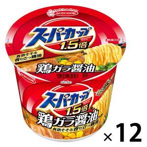 エースコック スーパーカップMAX しょうゆラーメン 119g 12個|y-lohaco