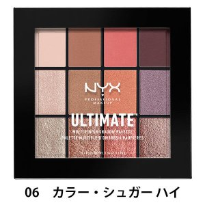 NYX Professional Makeup(ニックス) UT シャドウ パレット ミックス フィ...