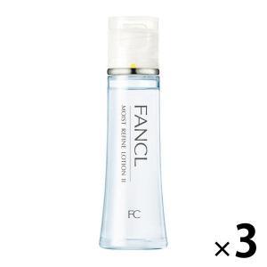 FANCL(ファンケル)モイストリファイン化粧液 しっとり30mL 3本セット|y-lohaco
