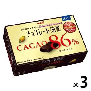 明治 チョコレート効果カカオ86% 3箱