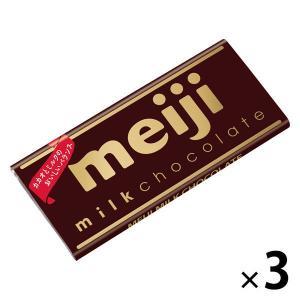 明治 ミルクチョコレート 3枚