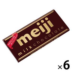 明治 ミルクチョコレート 6枚