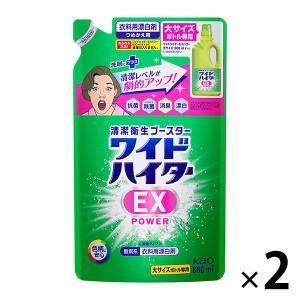 ワイドハイターEXパワー 詰め替え 大サイズ用 880ml 1セット(2個) 衣料用漂白剤 花王